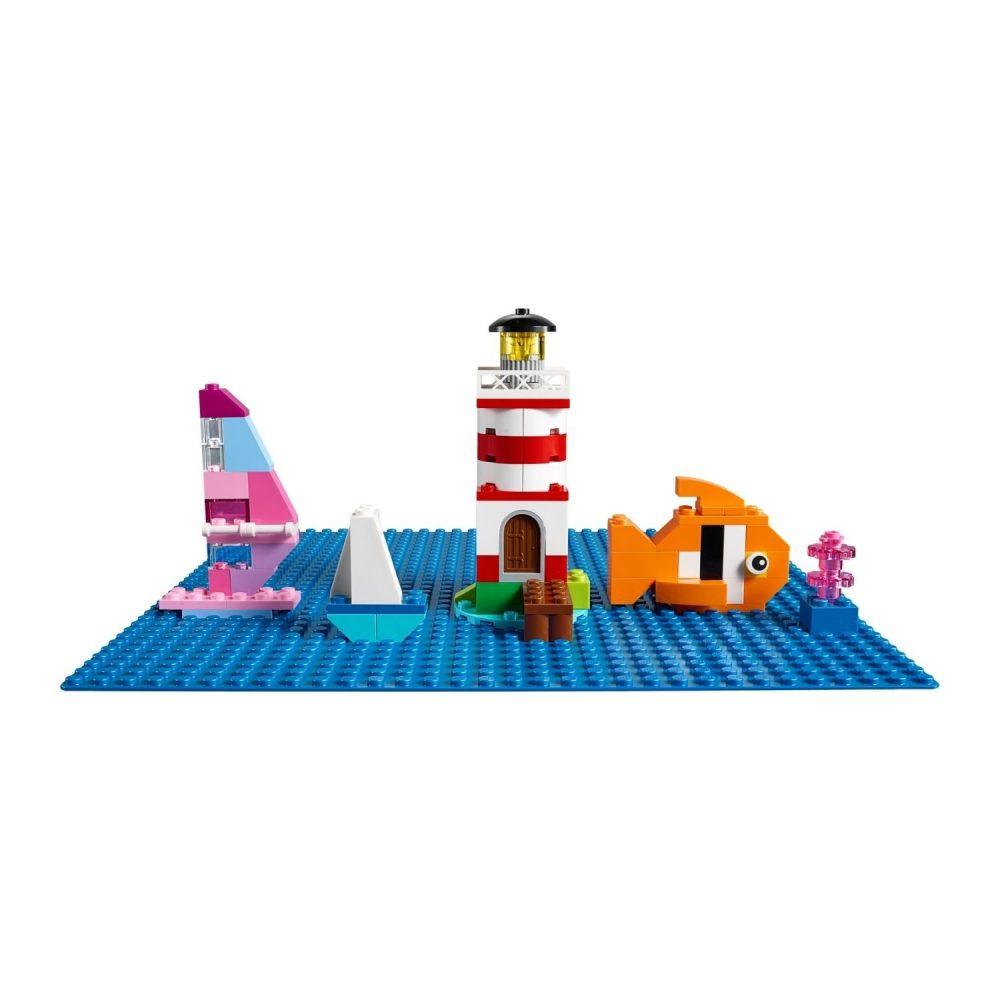 LEGO® Classic Blue Baseplate 10714
