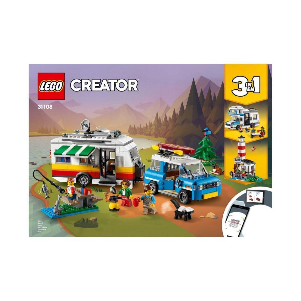 LEGO® Creator Caravan Family Holiday 31108
