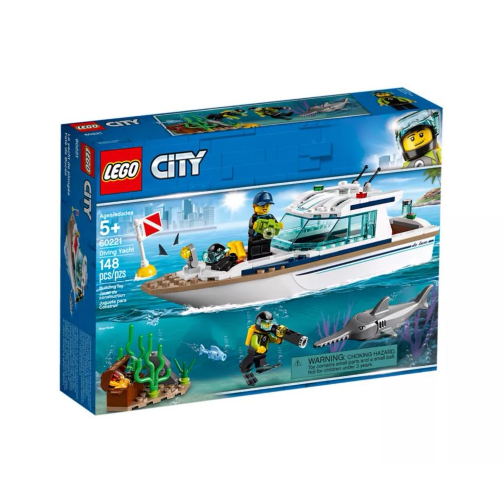 LEGO® City 60221 Diving Yacht Playset