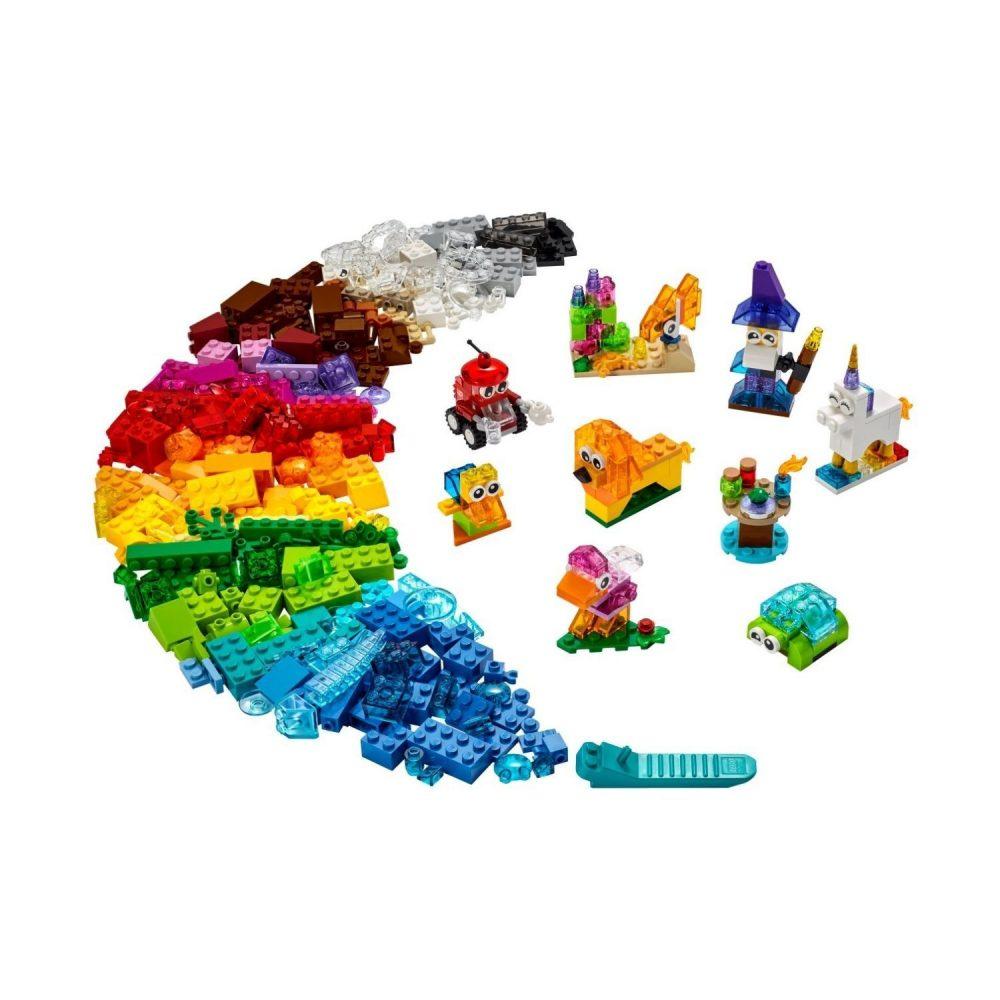 LEGO® Classic Creative Transparent Bricks 11013