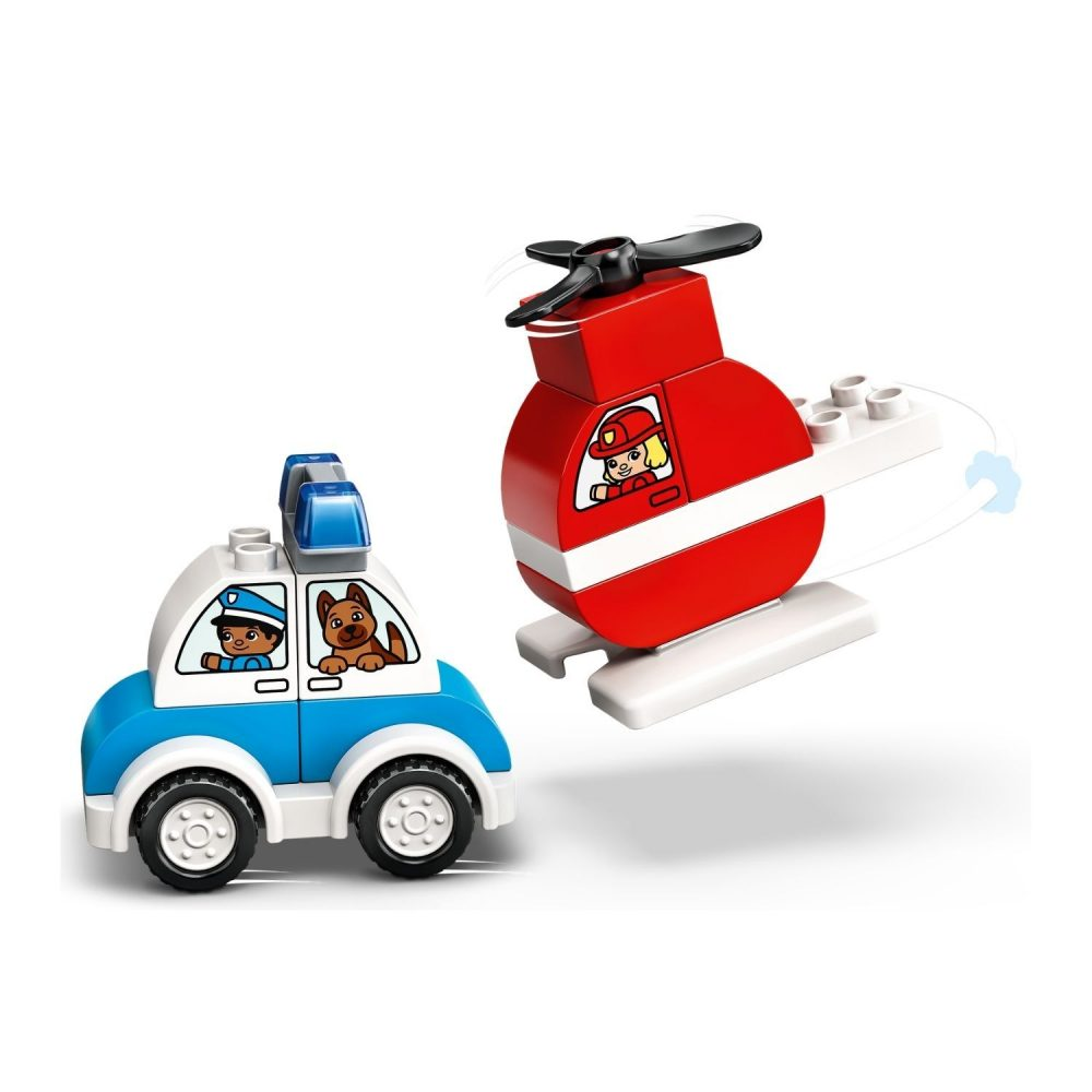 LEGO® DUPLO® Fire Helicopter & Police Car 10957