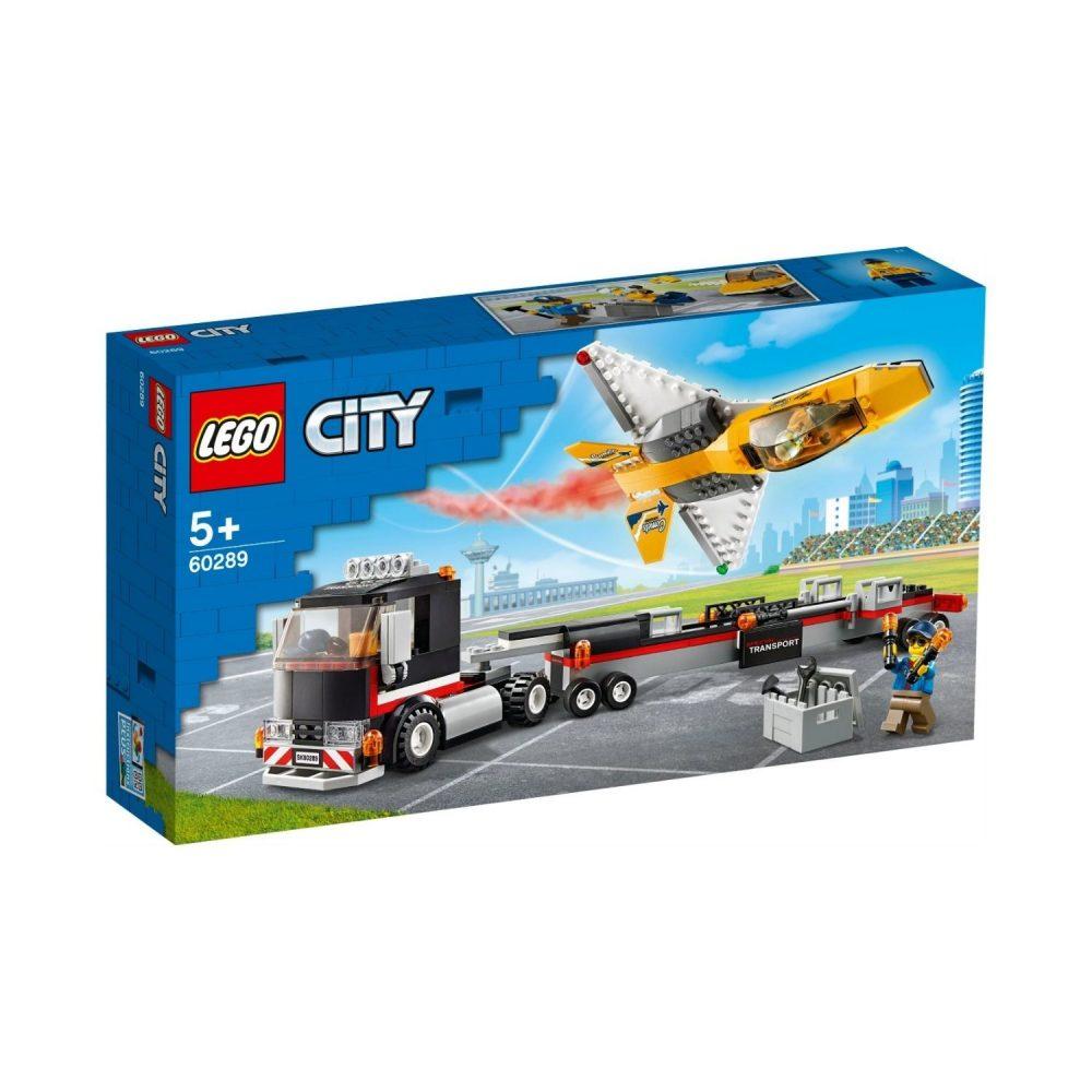 LEGO® City Airshow Jet Transporter 60289