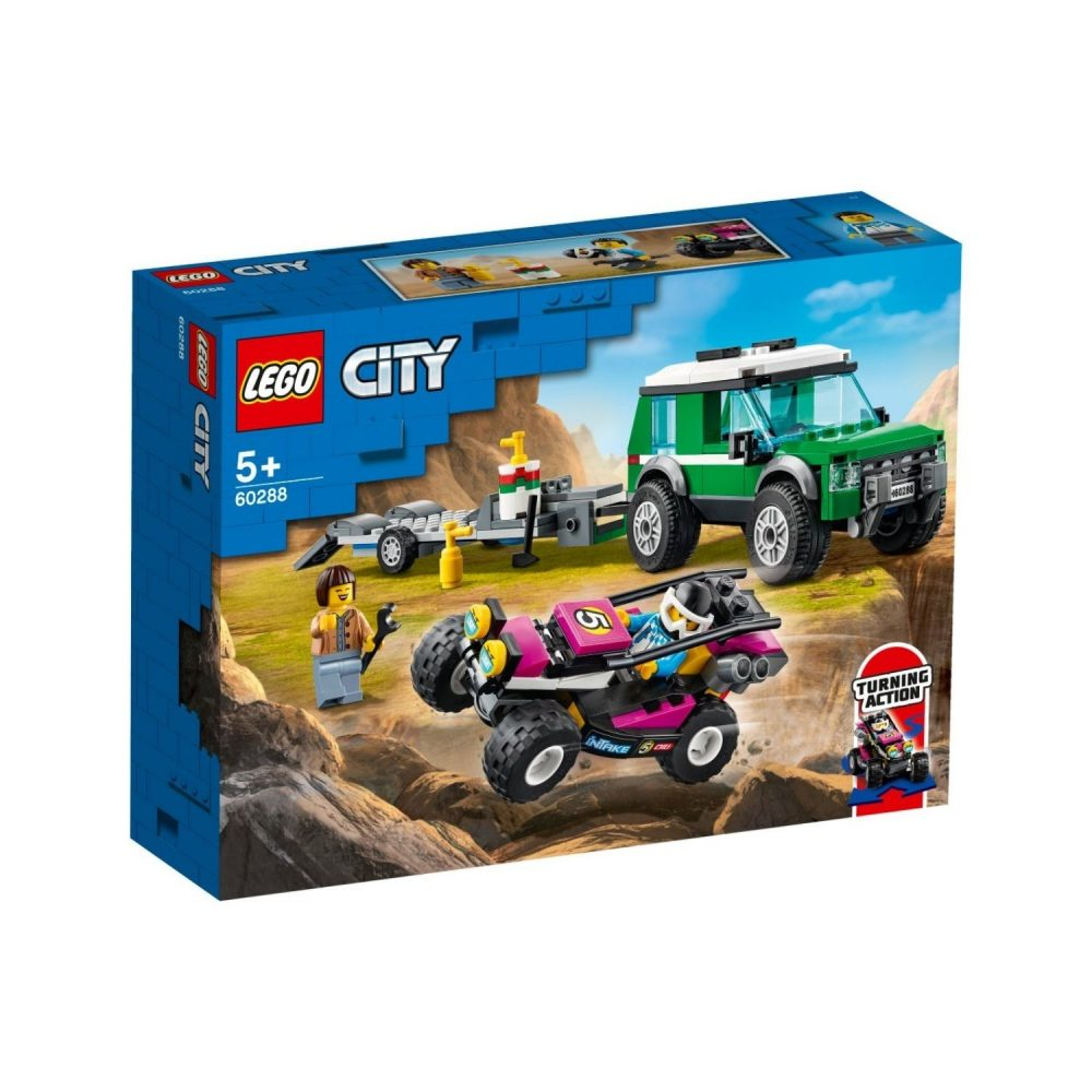LEGO® City Race Buggy Transporter 60288
