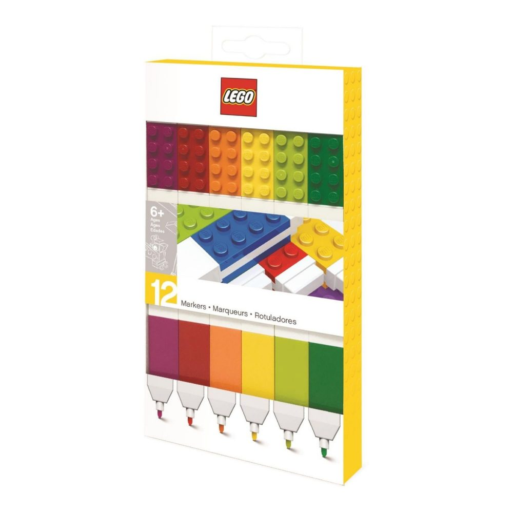 LEGO® Markers 12 Piece