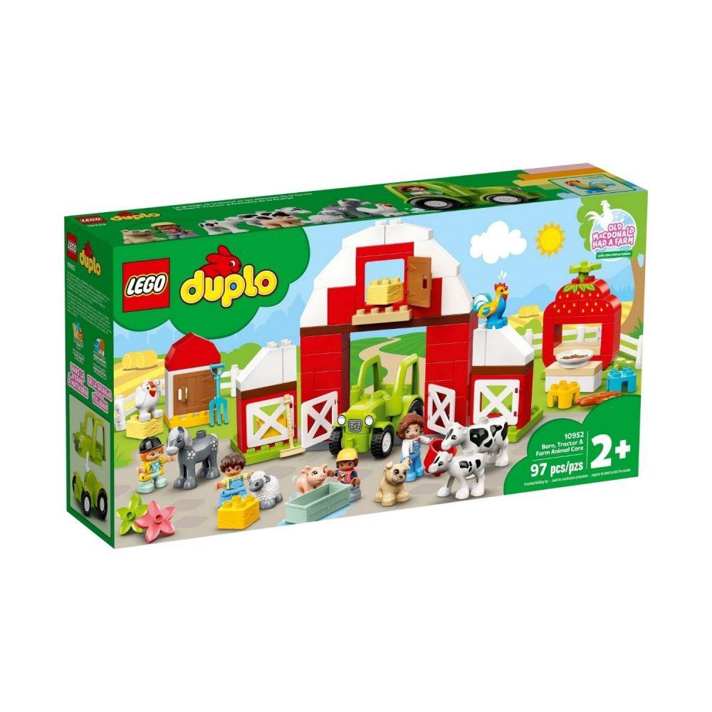 LEGO® DUPLO® Town Barn, Tractor & Farm Animal Care 10952