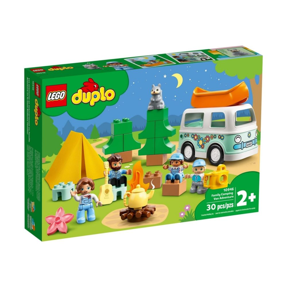 LEGO® DUPLO® Town Family Camping Van Adventure 10946