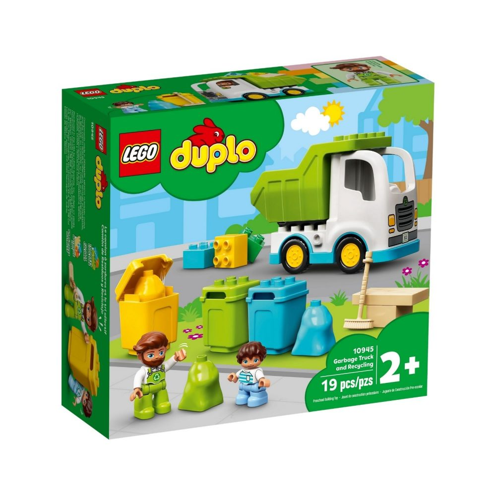 LEGO® DUPLO® Town Garbage Truck and Recycling 10945